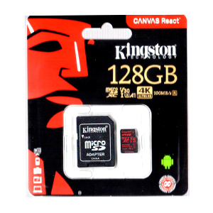 Kingston 128GB Micro SDXC Memory Card Class 10 Gold Edition
